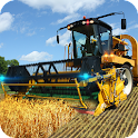 Farm Combine Tractor Simulator icon
