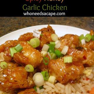 Chinese Spicy Garlic Chicken Recipes.