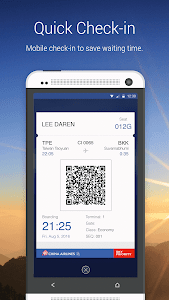 China Airlines App screenshot 2