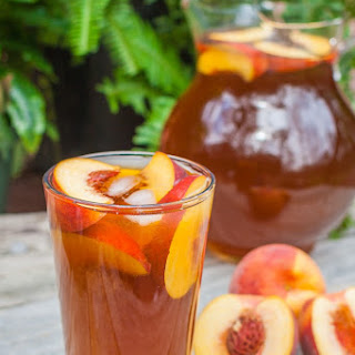 Delicious Peach Iced Tea Recipe!.