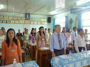 Photo: Hội nghị Cán bộ Công chức trường TH Tô Vĩnh Diện