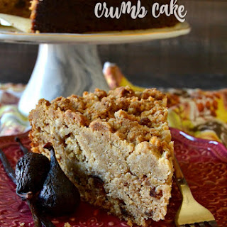 Fig & Vanilla Bean Crumb Cake.