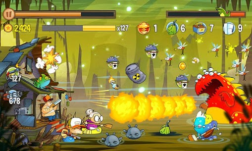 Swamp Attack MOD APK 4.0.6.94 [Unlimited Money] 5