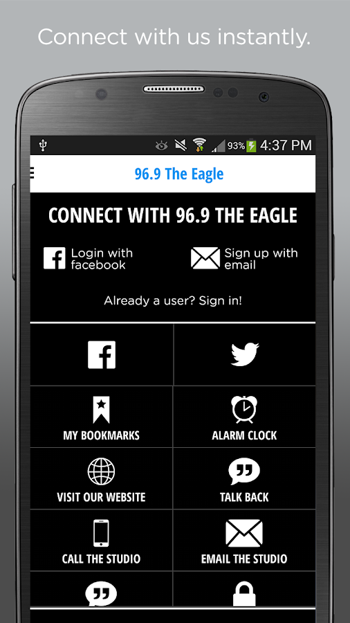96.9 The Eagle Sacramento- screenshot