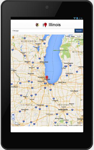 Illinois map  screenshots 3