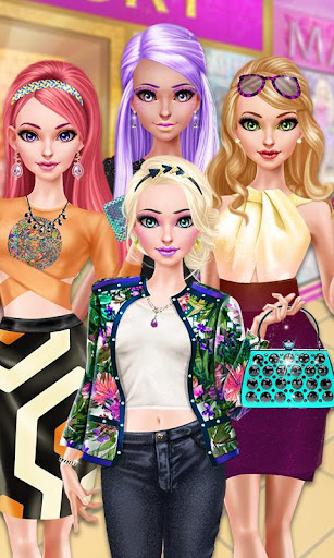 Glam Doll Salon: BFF Mall Date 1.5 screenshots 3