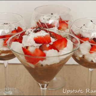 Mocha Strawberry Trifle.