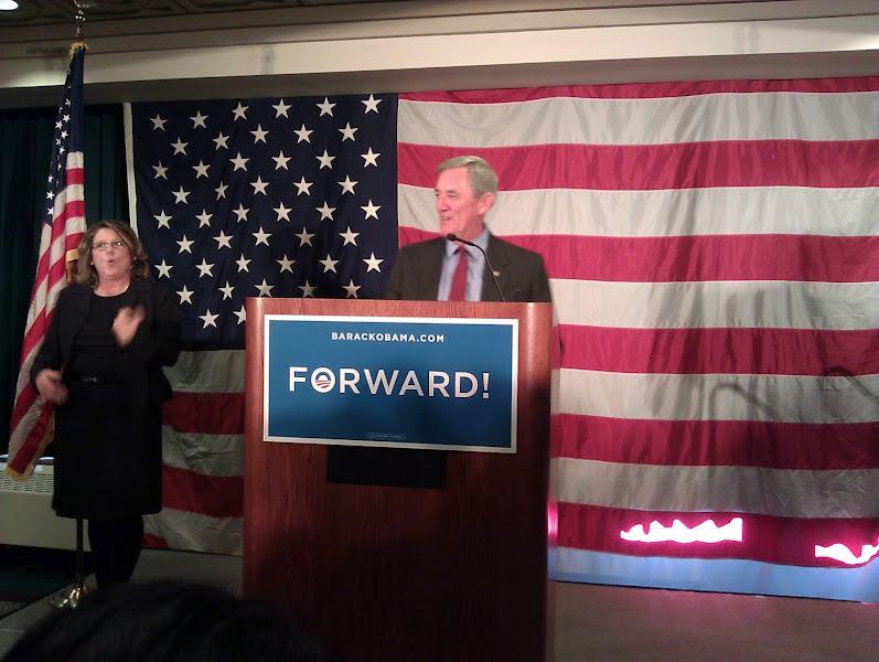 Photo: Congressman-hopeful Rick Nolan spoke, and introduced...
