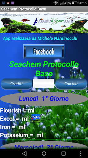 Protocollo Base Seachem 2.2 screenshots 1