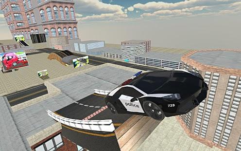 Police Car Stunt Simulation 3D - náhled