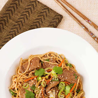 Five-Spice Beef and Noodle Stir Fry.