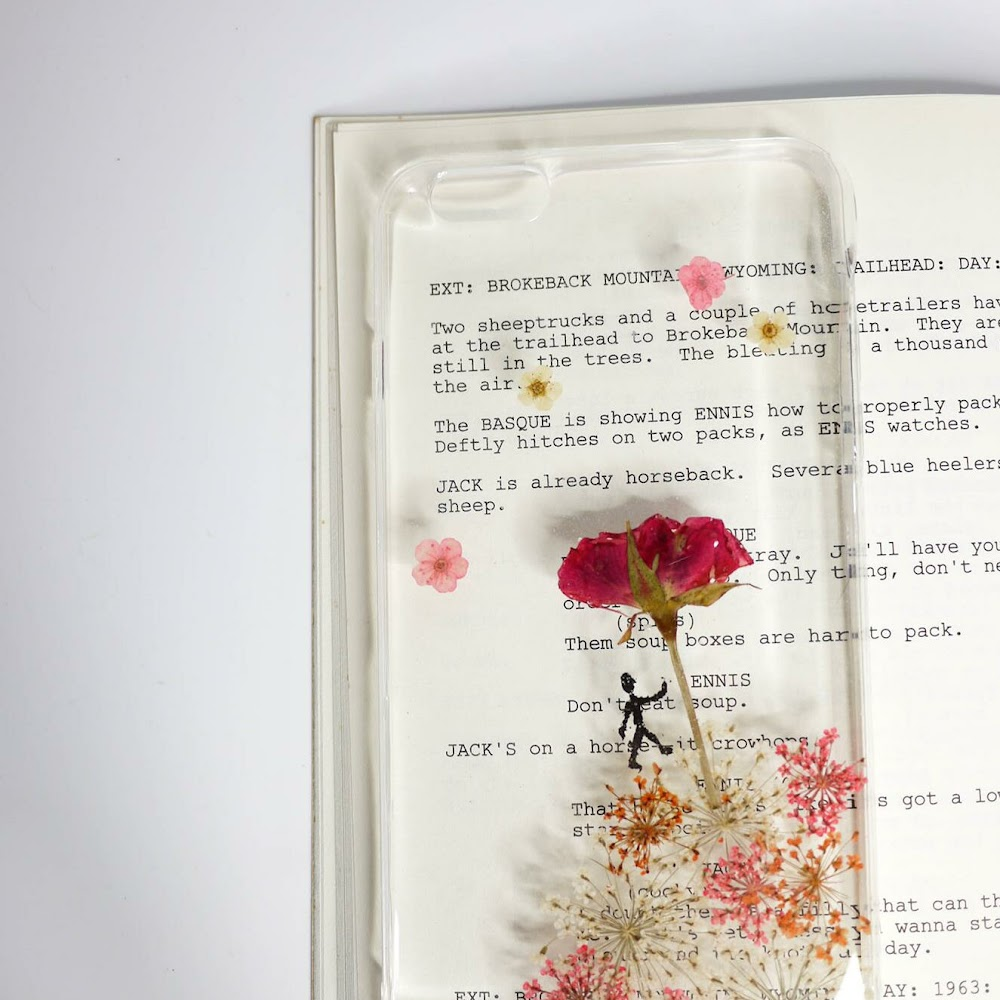 [訂製/custom-made] The Little Prince Pressed Flower Phone Case