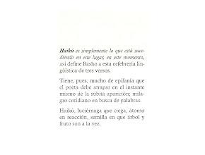 Photo: Primera página del libro El rumor de los seres. Humberto Jarrín B.