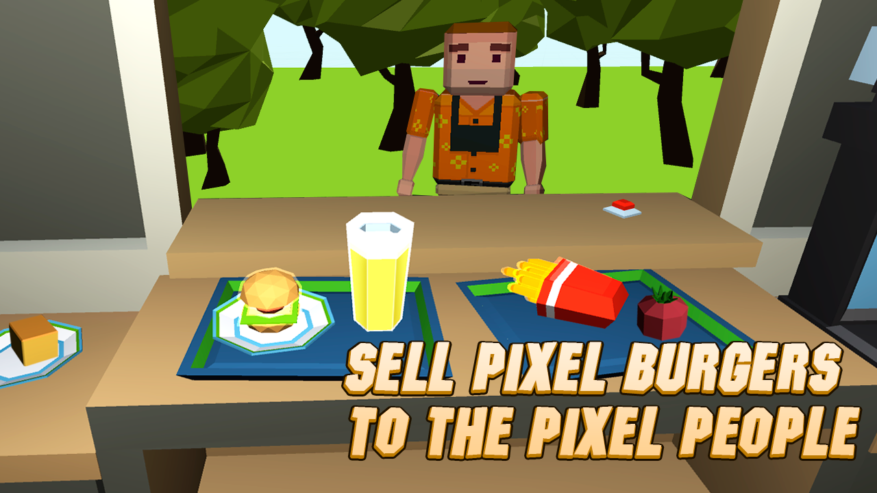 Burger chef cooking simulator android apps on google play for Cuisine simulation