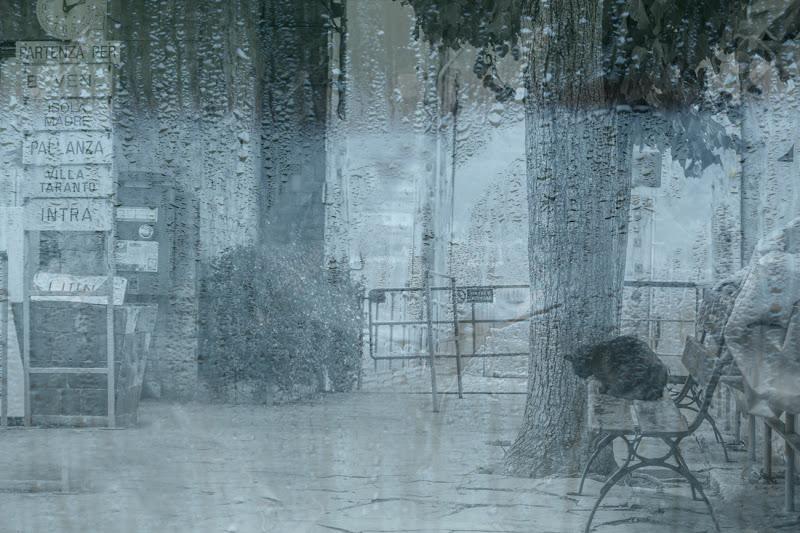 Attesa d'imbarco sotto la pioggia di albertosiberia