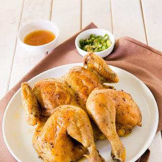 Baked Chicken with Spicy Salt