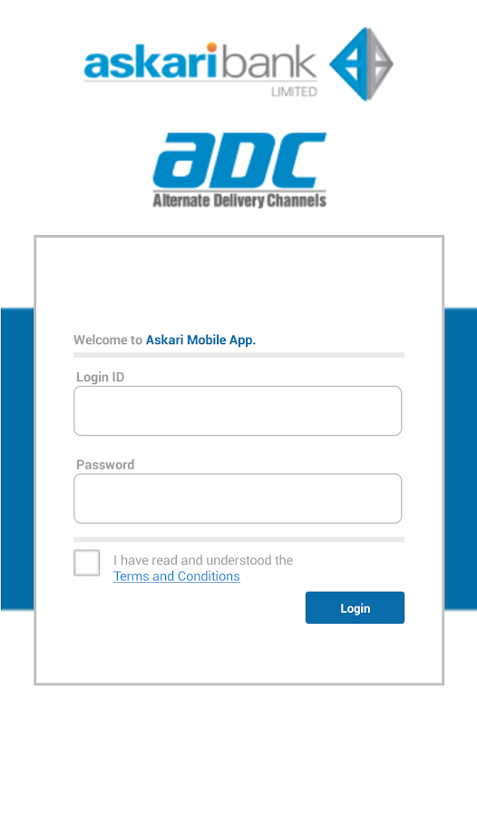 Askari Mobile App- screenshot