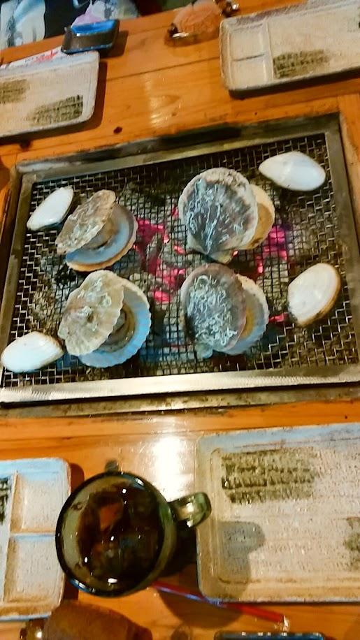 ホタテ焼き