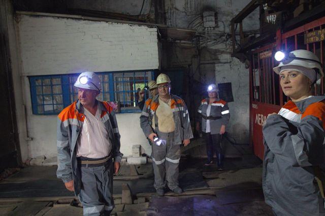 затоплені шахти