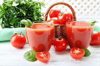 Carrot Tomato Spinach Juice