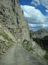 Photo: Palisades section of shelf road