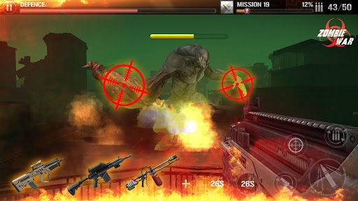 Zombie Defense Shooting: FPS Kill Shot hunting War filehippodl screenshot 1