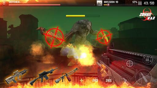 Télécharger Gratuit Tir de défense Zombie: Be Kill Shot APK MOD (Astuce) screenshots 1