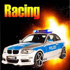 Полиция Вождение автомобиля