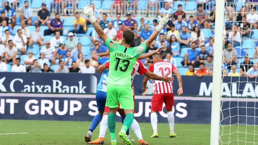 Málaga 1 - 2 Almería