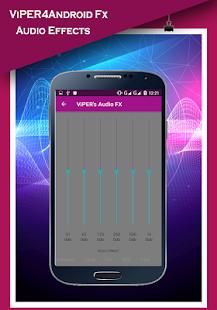 ViPER4android Nougat - Audio Equalizer - náhled
