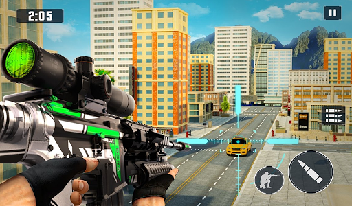Real Sniper Strike: FPS Sniper Shooting Game 3D android2mod screenshots 11
