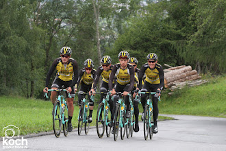 Photo: 15-07-2017: Wielrennen: Training Team Lotto Jumbo: Kuhtaihoogtestage, training, kuhtai, team LottoNL Jumbo, Twan Castelijns, Bert Jan Lindeman, Floris de Tier, Enrico Battaglin