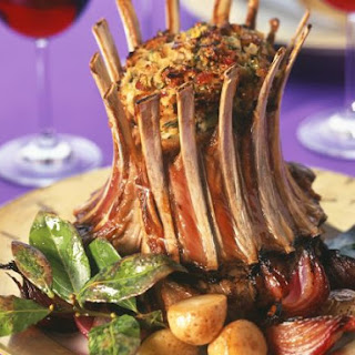 Tied Lamb Rack with Veggies
