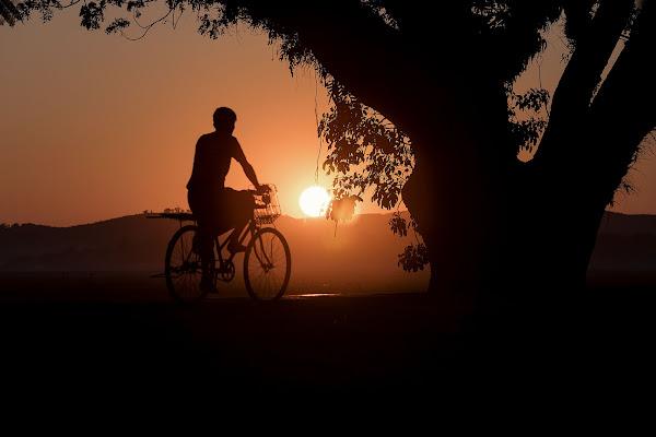 Ultimo tramonto a Mrauk-U