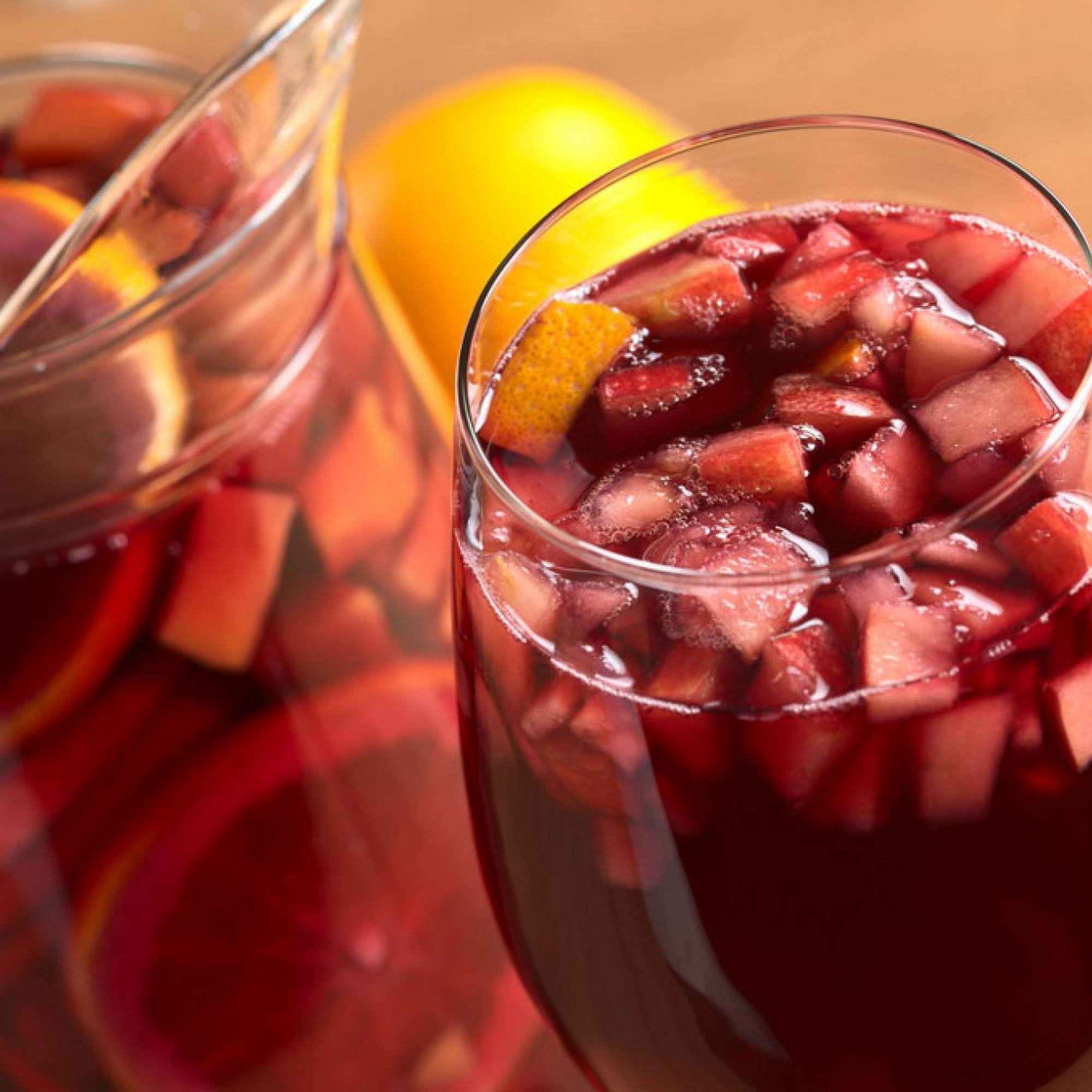 The BEST Red Sangria You Will Ever Have