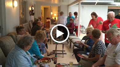 Video: The Casey's were grand hosts at their cocktail reception