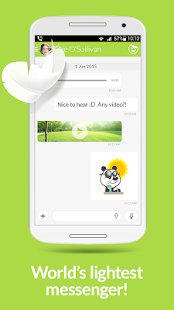 Jongla - Instant Messenger- screenshot thumbnail