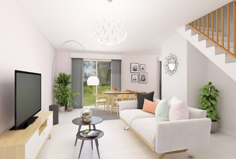 Vente Terrain + Maison - Terrain : 325m² - Maison : 85m² à Houdan (78550)