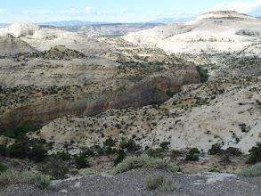 Photo: des canyons des deux côtés