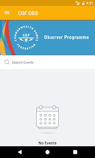 CGF Observer Programme - náhled