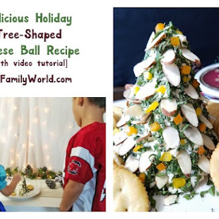 Finlandia Holiday Tree Cheese Ball
