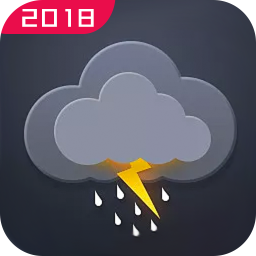 Thunder storm - Weather Forecast Widget Radar Map