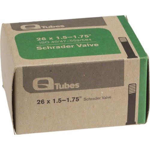 """Q-Tubes Schrader Valve Tube 26 x 1.5-1.75"""""""