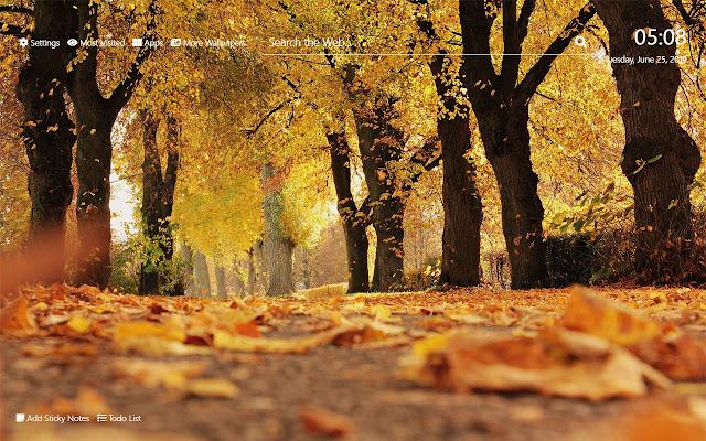 autumn Wallpaper HD New Tab Theme