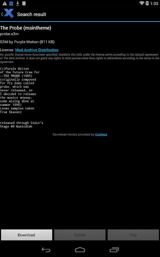 Xmp Mod Player 4.12.0 screenshots 7