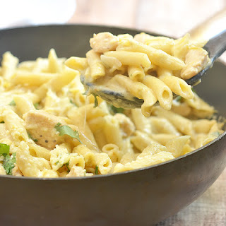 One-Pan Creamy Salsa Verde Chicken Pasta