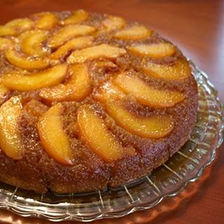 Peach Upside Down Cake.