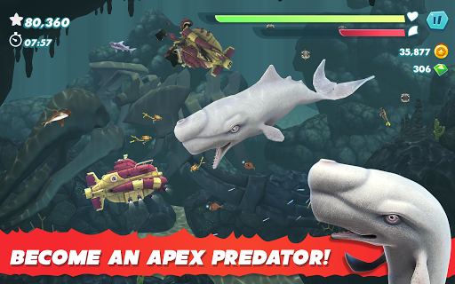 Hungry Shark Evolution apktram screenshots 20