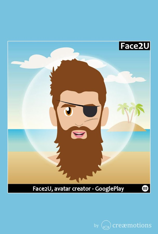 Free Character Design App : Face u avatar creator android apps on google play