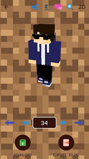 Boys Skins for Minecraft PE 1.7.0 screenshots 2